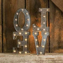 Darice Metal Marquee Letter 9.875""