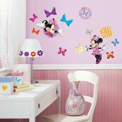 RoomMates Mickey and Friends Minnie Bow-Tique Peel-and-Stick