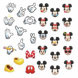 MICKEY AND MINNIE MOUSE EMOJIS Wall Decals 29 Disney Sticker