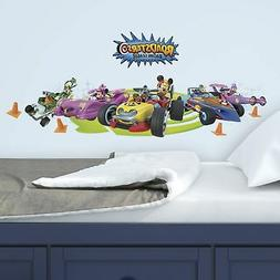 Mickey and the Roadster Racers RoomMates Vinyl Wall Bedroom