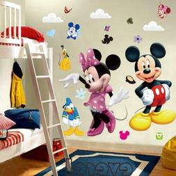 Mickey Mouse Minnie Vinyl Mural Wall Sticker Decals Kids Nur