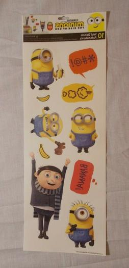 Minions The Rise of Gru Wall Decals Stickers Removable