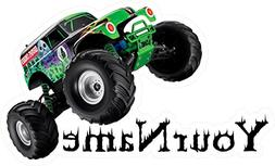 Your Name GRAVE DIGGER Custom Name Wall Decal Monster Truck,
