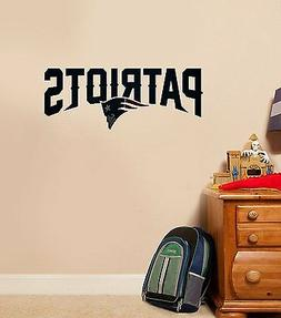 New England Patriots Wall Quote Decals Vinyl Sticker For Roo