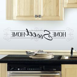 New HOME SWEET HOME WALL DECALS Quote Stickers Inspirational