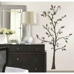 NEW RoomMates XL Tree Giant Wall Decals Modern Dotted Tree M