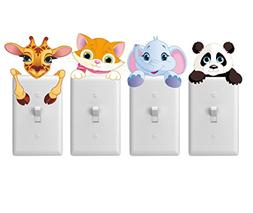 Merry Magic nursery wall decal stickers for light switches 4