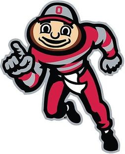 Ohio State Buckeyes Brutus Color Vinyl Decal Sticker - You C
