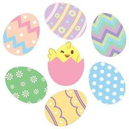 Oliver's Labels Easter Eggs Wall Decals Peel and Stick Remov