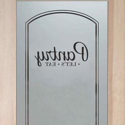 BATTOO Pantry Decal - Pantry Door Decal - Pantry Wall Decal
