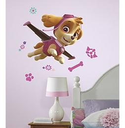 RoomMates Paw Patrol Skye Peel & Stick Giant Wall Decals