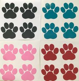 Paw Print Decals Sticker for Walls Phones Cars Windows/Lapto