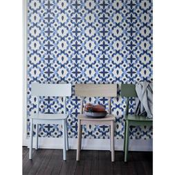 Peel and stick Moroccan Pattern Removable Wallpaper Self adh