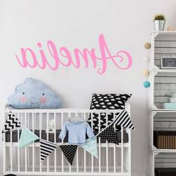 Personalized Names Wall Stickers Letters Stickers Decals Nur