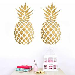 Pineapple Wall Stickers Vinyl Art Removable Kids Room Decals