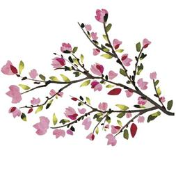 RoomMates Pink Cherry Blossom Branches Peel & Stick Wall Dec