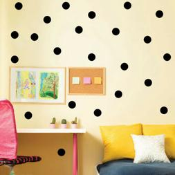 Polka Dots Wall Sticker Baby Nursery Stickers Kid Children W