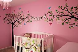 PopDecors - Big tree with love birds  - Custom Beautiful Tre