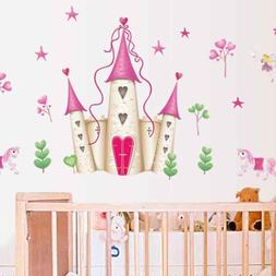 princess castle wall decals New Hearts & Stars Stickers Girl