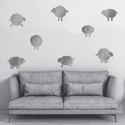 Removable Cute Sheep Wall Decals Sticker Kids Bedroom Home N