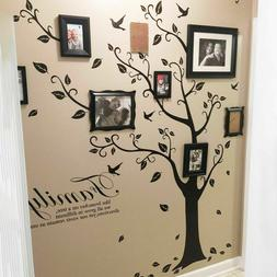 Removable Family Tree Wall Decals Mural Sticker DIY Art-Viny