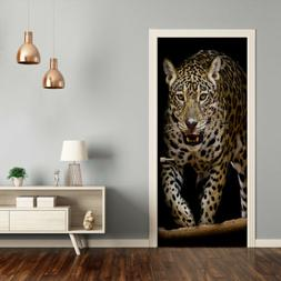 Removable Home Decor Door Wall Sticker Self Adhesive Bedroom