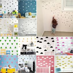Removable Wall Stickers Art Decals Kids Baby Nursery Bedroom