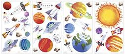RoomMates RMK1316SCS Outer Space Peel & Stick Wall Decals