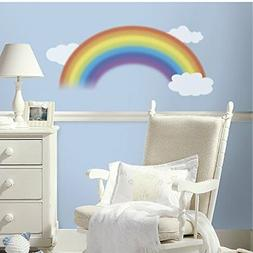 RoomMates RMK1629GM Over the Rainbow Peel & Stick Giant Wall