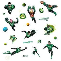 Roommates Rmk1652Scs Green Lantern Peel And Stick Wall Decal