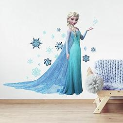 Roommates Rmk2371Gm Frozen Elsa Peel And Stick Giant Wall De
