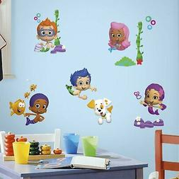 RoomMates Bubble Guppies Peel And Stick Wall Decals York Wallcoverings RMK2404SCS