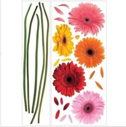 RoomMates Peel and Stick Wall Decal - Gerbera Daisies