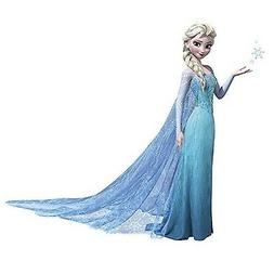 Roommates Rmk 2371Gm Frozen Elsa Peel And Stick Giant Wall D