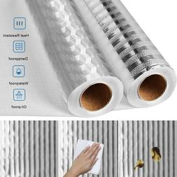 Self Adhesive Oil-proof Aluminum Foil Removable Wall Sticker