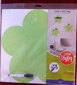 Set of 3 -WALL-POPS! DRY ERASE-FLOWER Wall-Art Decals - Mess