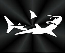 Shark Decals, Great White Shark, Fish Decal Sticker ALL DECA