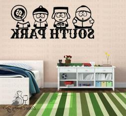 South Park TV Comedy Central Stan Kyle Kenny Cartman Wall Wi
