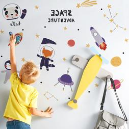 Space Wall Sticker For Children Bedroom/Classroom Home Decor