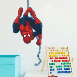 Spiderman Boys Room Light Removable PVC Wall Sticker Decal F