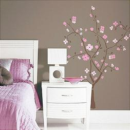 105-Piece Spring Blossom Peel and Stick Giant Wall Decal