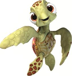 squirt turtle finding nemo 2