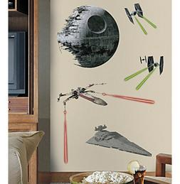 RoomMates Wall Decals Star Wars™ Classic Space Ships G