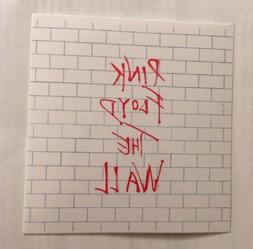 Pink Floyd Sticker - The Wall