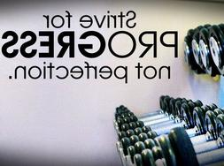 Strive for... - Quote Decal,Exercise Fitness Cardio Motivati