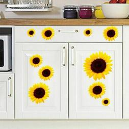SunFlower Decals Car Stickers Graphics Nursery Wall Window D