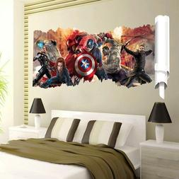 Super Hero Avengers Alliance wall stickers for kids rooms 50