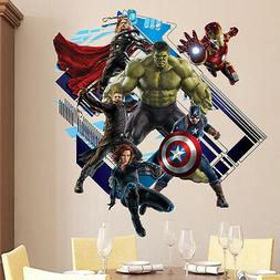 The Avengers Captain America 3D View Wall Sticker Super Hero