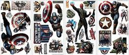 The Avengers Captain America Wall Decal Sticker Super Hero C