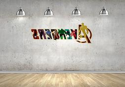 The Avengers Marvel Wall Decals Vinyl Sticker For Room Home